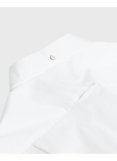 Gant Erkek Slim Fit Gömlek Beyaz